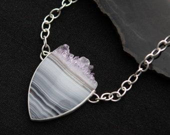 Amethyst Crystal Top Necklace