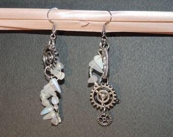 "Earrings ""Queen of Winter"""
