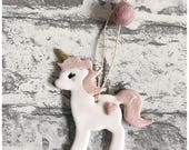 Unicorn decoration. Unicorn mobile