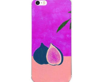Purple Fig Artwork iPhone 6/6s, 6/6s Plus Case