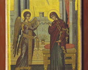 The Annunciation.FREE SHIPPING.