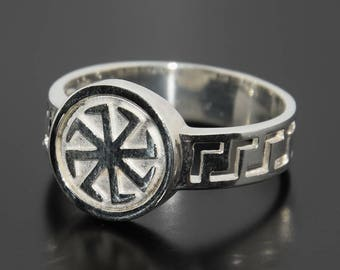 Celtic ring, Silver signet ring, Celtic jewelry, Unique men ring, Men celtic ring, Gift for him ring, Ring for him, Ring for husband