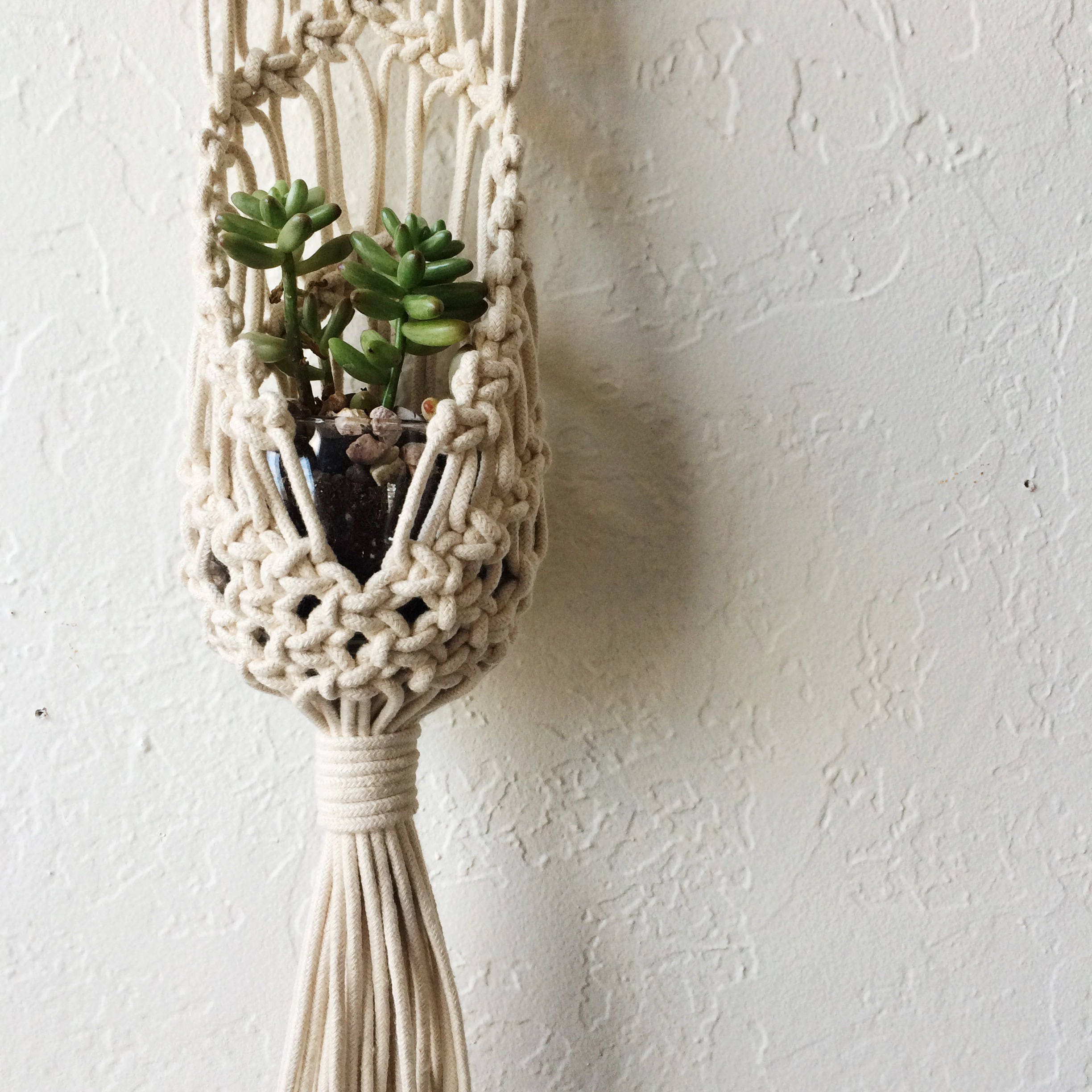 new world macrame macrame hanging plant pouch tutorial for beginners 4711