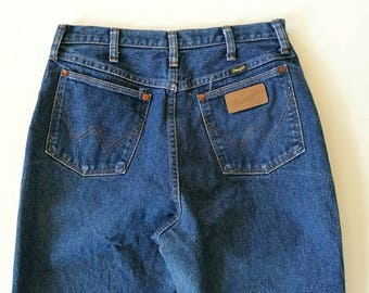 Vintage WRANGLER high waist jeans made in USA W 29'