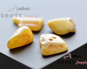 Baltic amber stones, 4 pieces of amber, Natural amber, Polished amber pieces, Amber stones, 4274/1