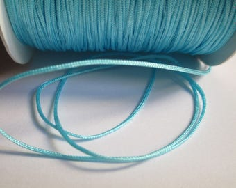 5 m blue nylon thread woven 0.8 mm