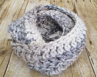 Toddler  infinity scarves -crochet