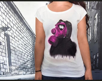 "Raglan T-shirt ""last thing"" fair trade & organic"