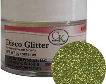 Disco Glitter - Chartreuse - 5 grams - CK Products