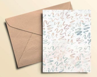 Squiggles Note Cards