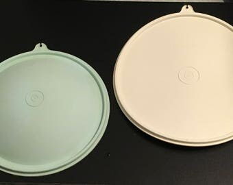 """Tupperware  Seal 230 Z 9 """" White Or  1425 Aqua Super Crisp It Lettuce Keeper Seal Fits 1424 Lid Cover Replacement"""