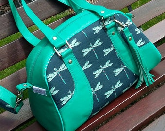 Design Your Own Swoon Maisie Bowler Handbag / Swoon Maisie Bowler Handbag / Bowler Handbag / Handbag / Ladies Handbag / Maisie bowler