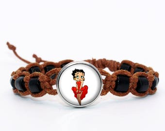 betty Brown shambala bracelet