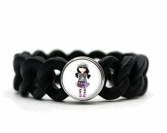 gorjuss silicone bracelet with the choice was mined