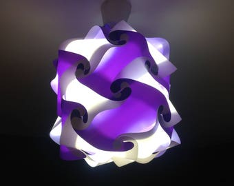 Mountain Night Light Stripes Kid's Lamp / Lantern
