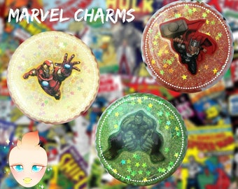 MARVEL Resin Charms~