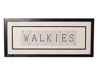 Walkies Dog Lead Hanger by Vintage Playing Cards FREE UK SHIPPING!