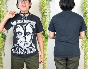 Vintage Misfits black tshirt ~ size M