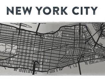 New York City Stainless Steel Bottle Opener