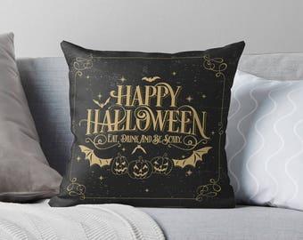 Halloween Decor | Halloween Pillow Case | Halloween Pillow Cover | Halloween Cushion | Halloween Decorations |