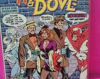 Hawk & Dove #4  New Team, Original Hawk New Female Dove  Vs The Untoucables VF-NM Unread Vintage DC Comic Book