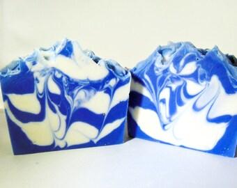 Crisp Cotton Handmade Soap, Handmade Soap, Goat's Milk Soap, Crisp Cotton