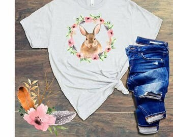 Easter Bunny - Short Sleeve Kids T-Shirt -RootsandWings