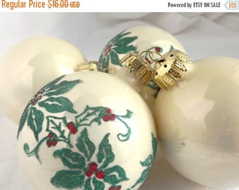 CLEARANCE SALE Vintage Glass Christmas Tree Ornaments, Holiday Decor, Christmas Tree Decorations, Vintage Christmas, Festive Decor,Christmas