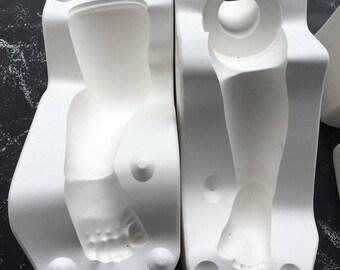 Vintage Patty Patty Left Leg Porcelain Doll Ceramic Mold 606D Doll Artworks PT