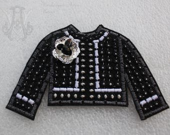 Embroidery jacket- design jacket patch-machine embroidery-embroidery patch design