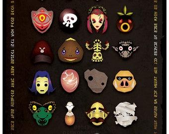 Legend of Zelda - Mask Scroll