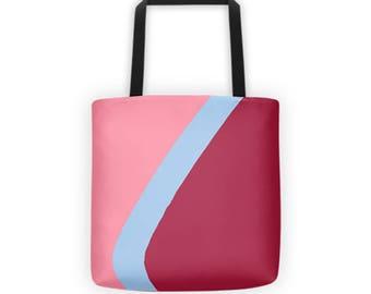 Bubblegum Wall Tote Bag / Epcot tote bag / Disney tote bag