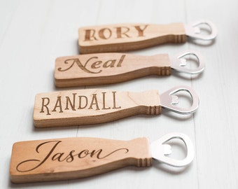 Groomsmen Gifts, Customized Bottle Opener, Wedding Favor, Thank You Gift, Gift for the Groom, Best Man, Grooms Man, Fathers Day Gift