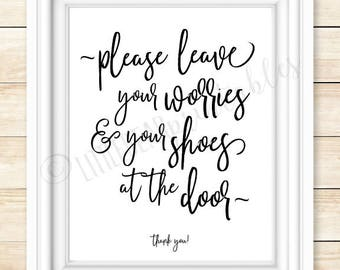 Worries And Shoes Etsy