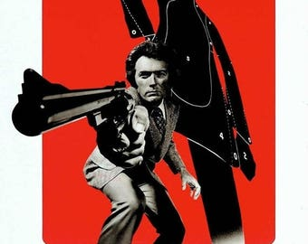 Summer Sale MAGNUM FORCE Movie Poster Clint Eastwood Dirty harry