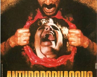 Back to School Sale: ANTHROPOPHAGUS Movie Poster 1980 Horror Gore
