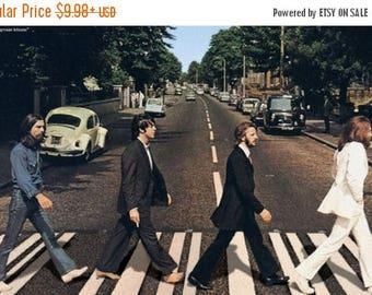 Back to School Sale: The BEATLES - ABBEY ROAD Poster John Lennon Paul McCartney