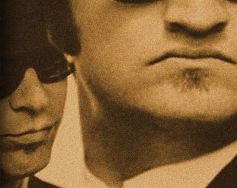 ON SALE NOW: The Blues Brothers Movie Poster Dan Akroyd John Belushi Snl