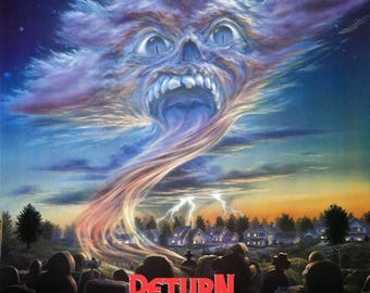 ON SALE NOW: Return of the Living Dead Part Ii 1988 Teen/Horror Movie Poster