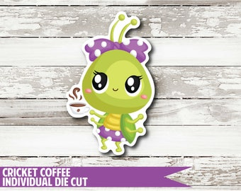 Cricket Coffee Die Cut