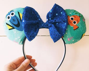 Nemo/Dory Minnie Mouse Ears