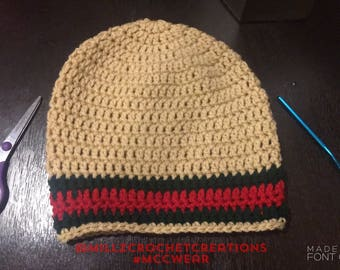 Crochet Gucci Inspired Hat