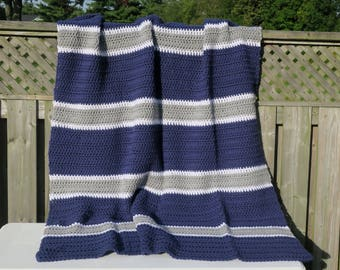 Blanket / Dallas Cowboys Blanket / Dallas Cowboys Crochet Blanket / Crochet Blanket / Dallas Cowboys  / NFL