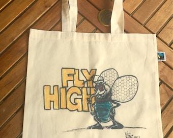 "Art - fabric bag ""VITSCHI Comics"""
