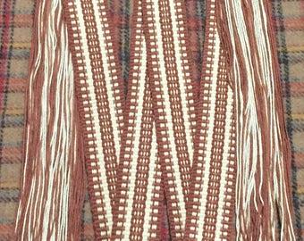 Powder horn strap/woven strap