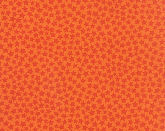 Moda MIDNIGHT MASQUERADE Quilt Fabric 1/2 Yard By Deb Strain - Orange 19728 11