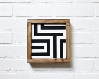 Maze Sign