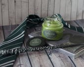 Slytherin (small) / Bookish Candle / inspired from Harry Potter / green