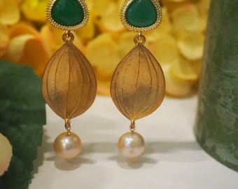 Palace Green Earrings