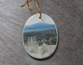 Winter Whiteface Ornament